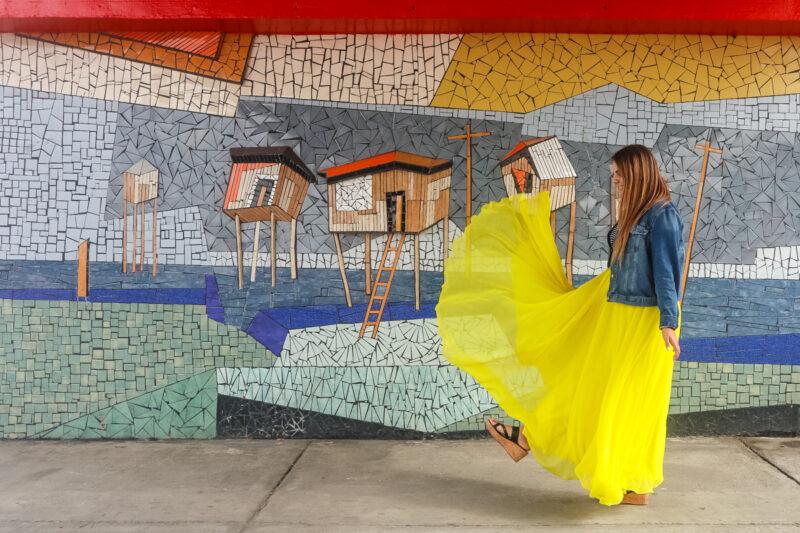 puentes con murales
