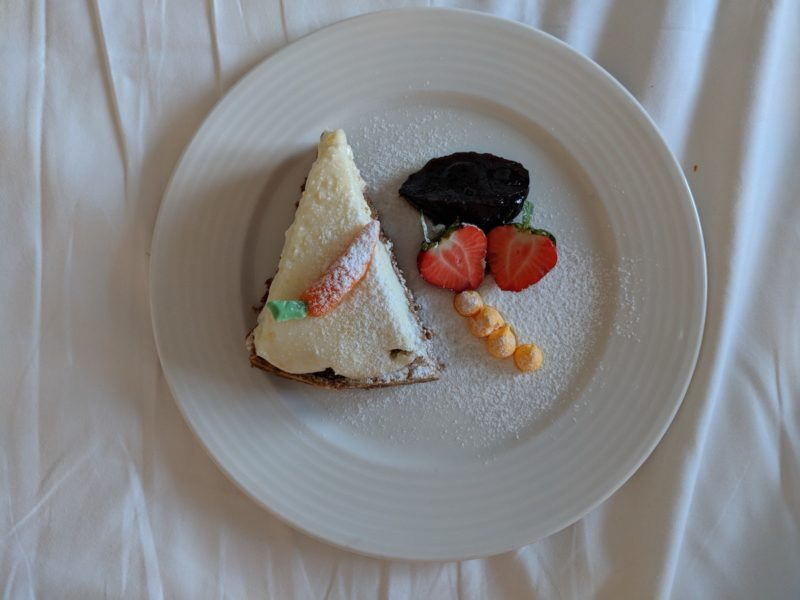 Art'Otel Budapest cake carrot