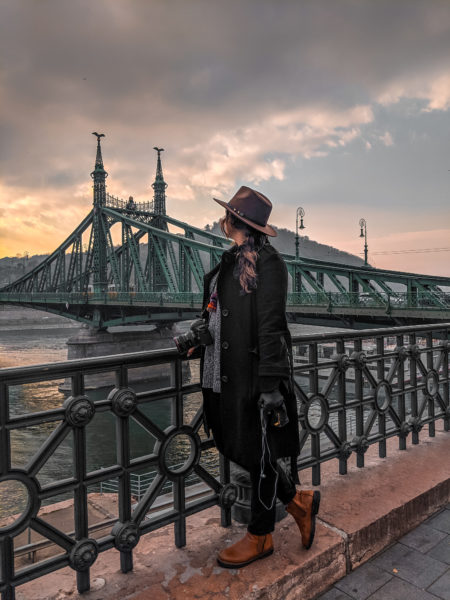 Best Instagram Spots in Budapest: Liberty Bridge