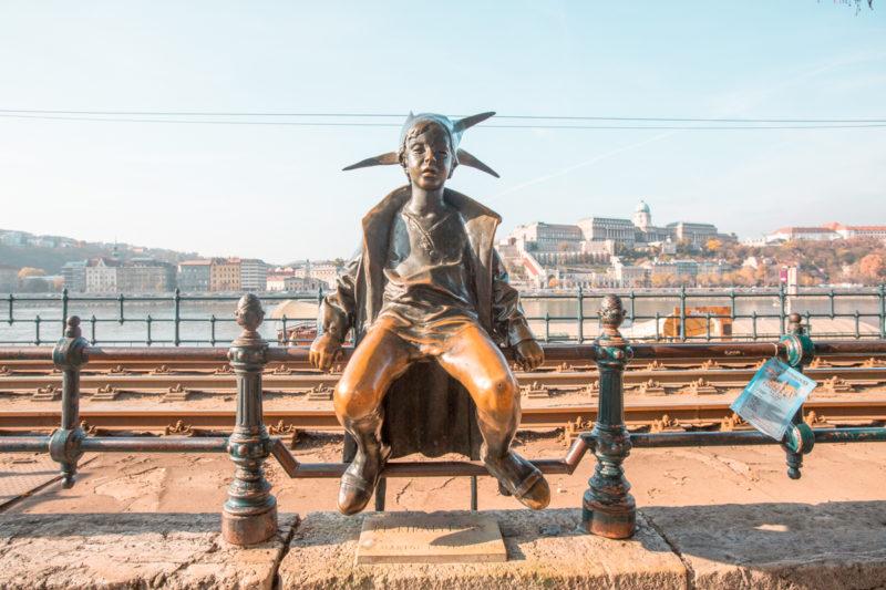Best Instagram Spots in Budapest: Little Princess Statue