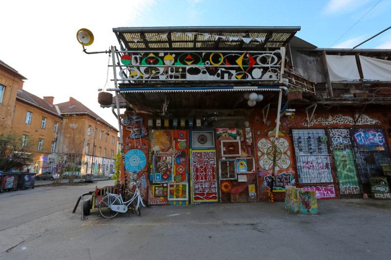 Metelkova Mesto in slovenia
