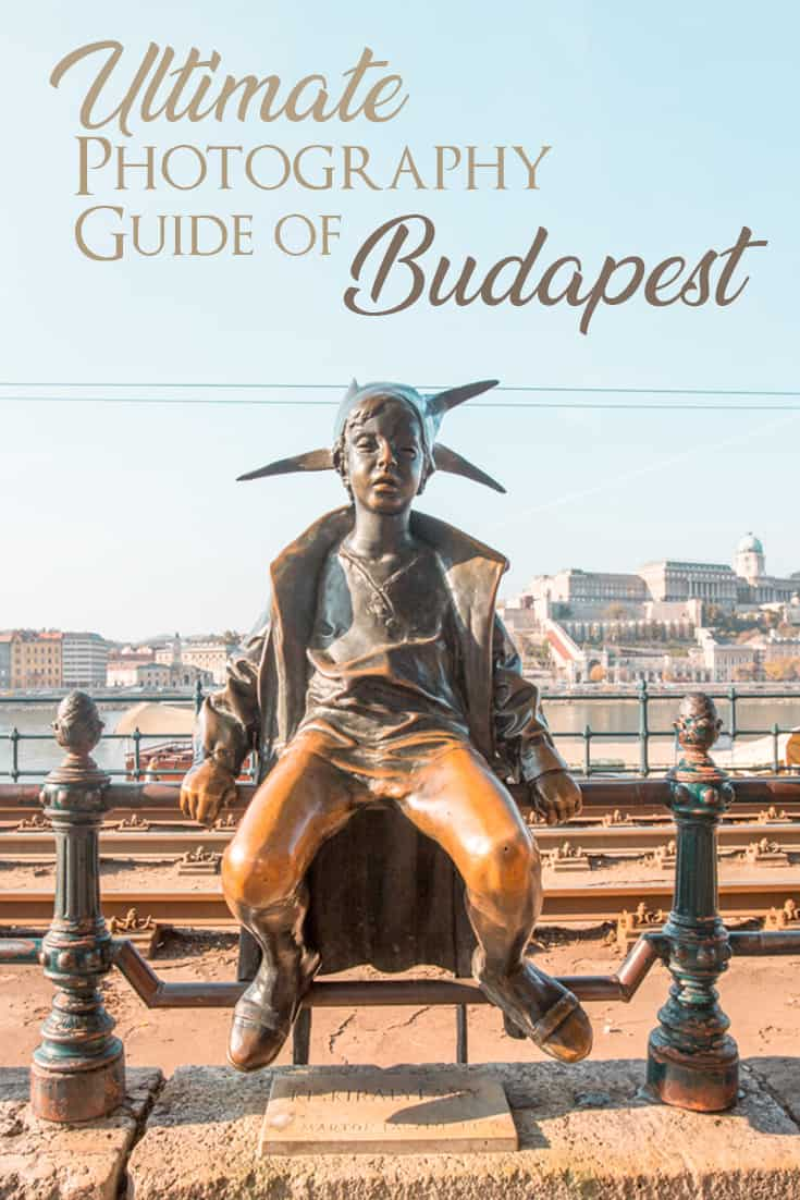 A complete photography guide with the top Instagrammable places to see in Budapest. A list of the most beautiful places to take photos in Budapest.