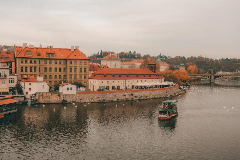 Take a boat tour in Prague