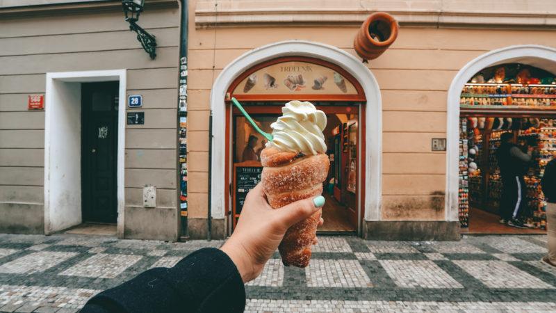 Trdelnik in Prague
