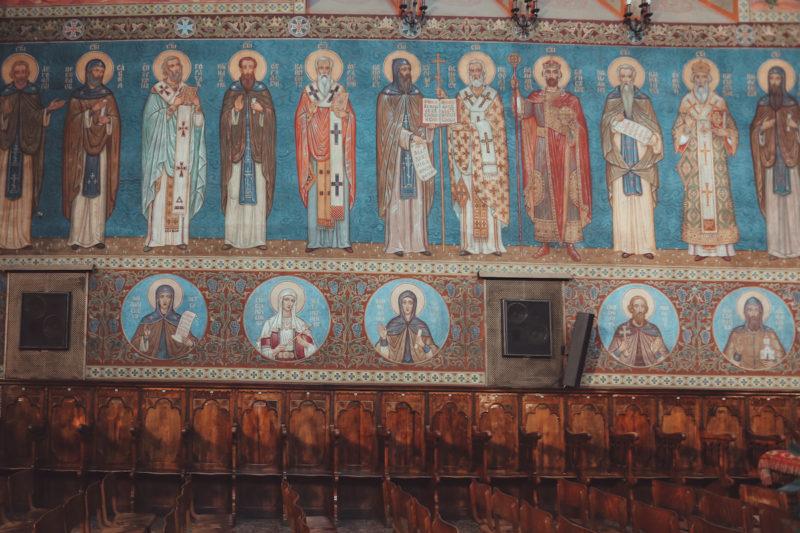 St. Nedelya Church frescos