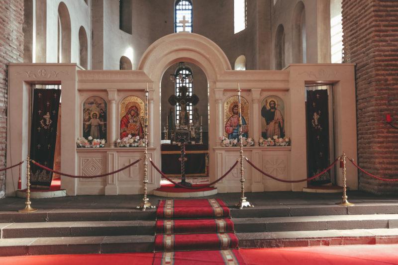 Sveta Sofia Church inside
