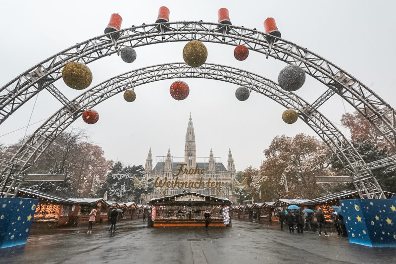 Vienna City Hall Christmas Market
