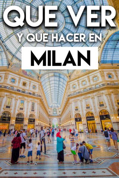 Que ver y que hacer en Milán en dos días