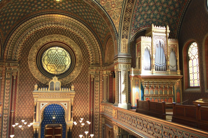 Spanish Synagogue in Prague