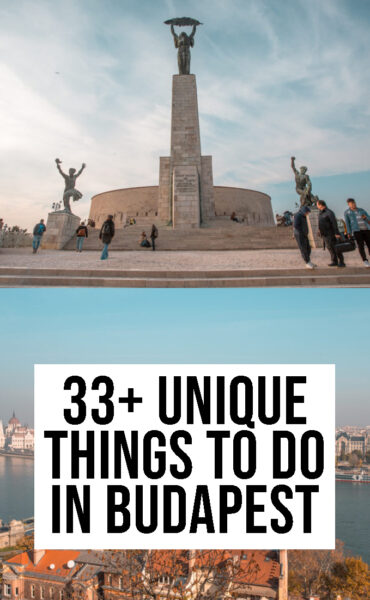 33 Unique things to do in Budapest