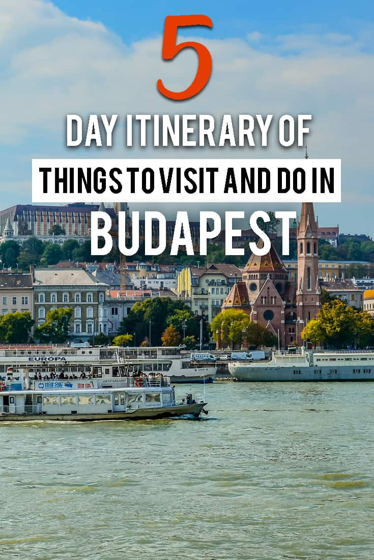 Budapest: 5-Day Guide to Budapest: If you're heading to Budapest soon and need a guide or itinerary of where to start planning, The Traveling CupKate has got your guide! Check out my Budapest travel guide.