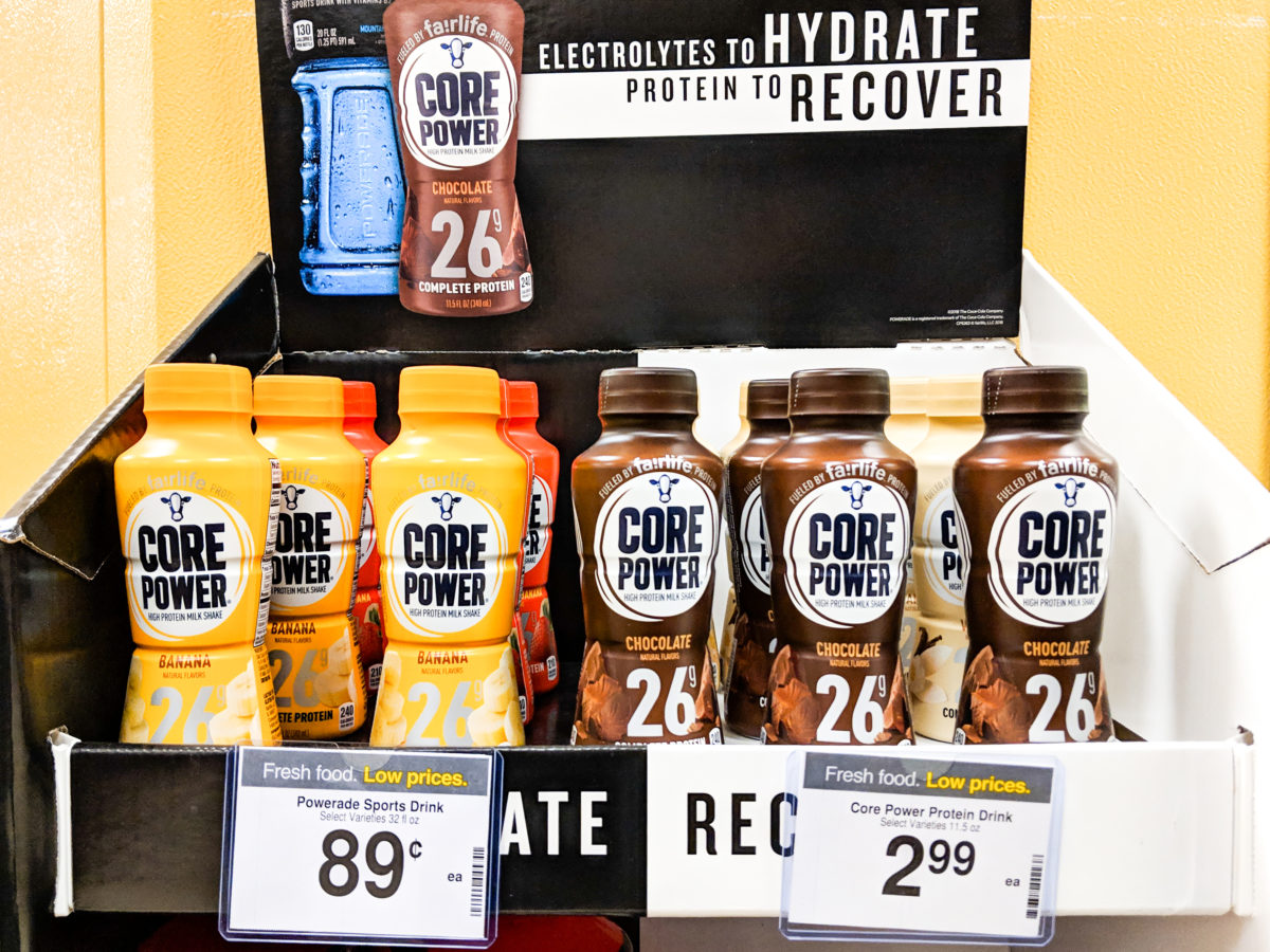 Kroger Core Power stand