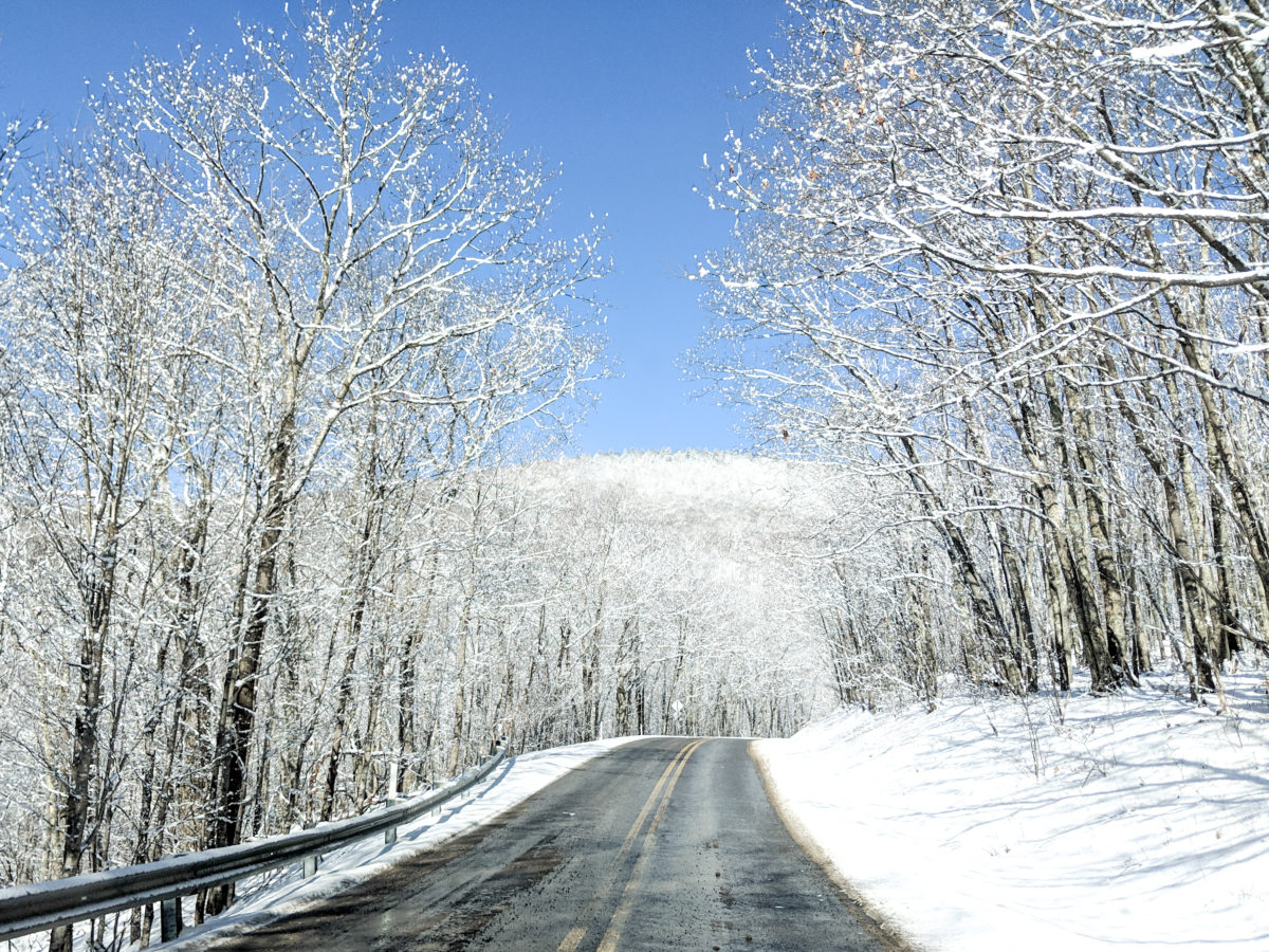 drive to Snowshoe