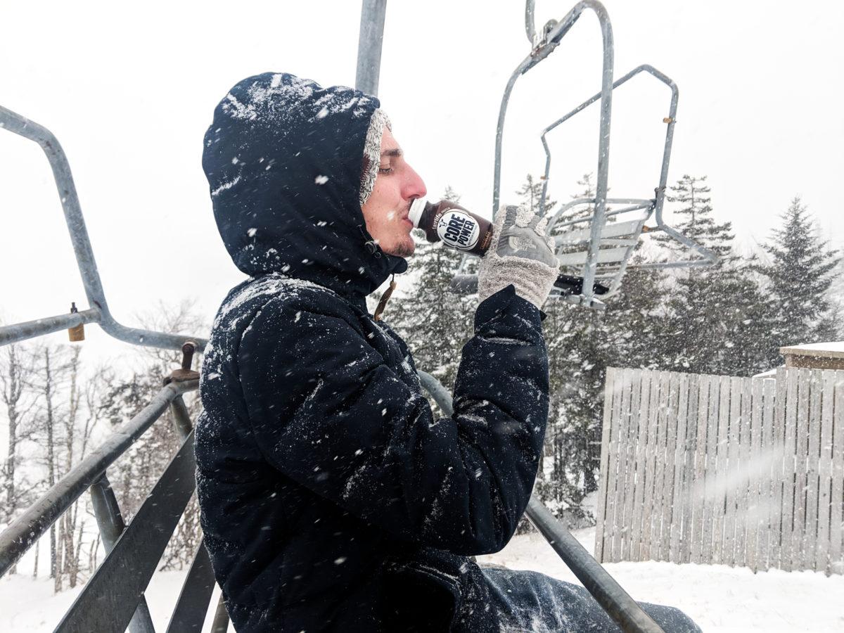 Snowshoe ski lift