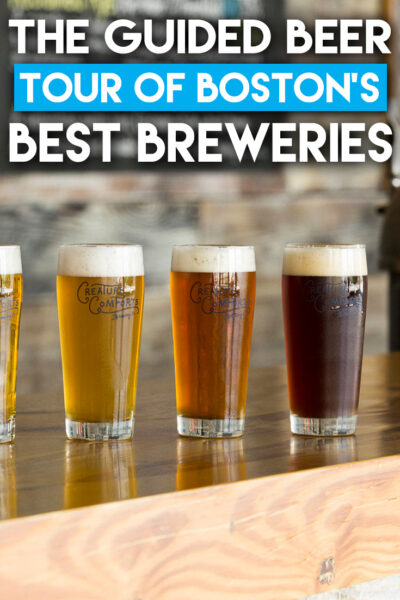 Guided Beer Tour of Boston's Best Breweries