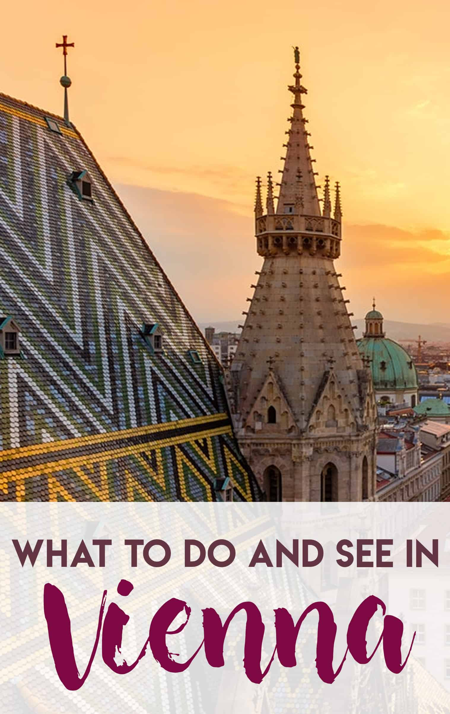 What to see and do in Vienna Austria