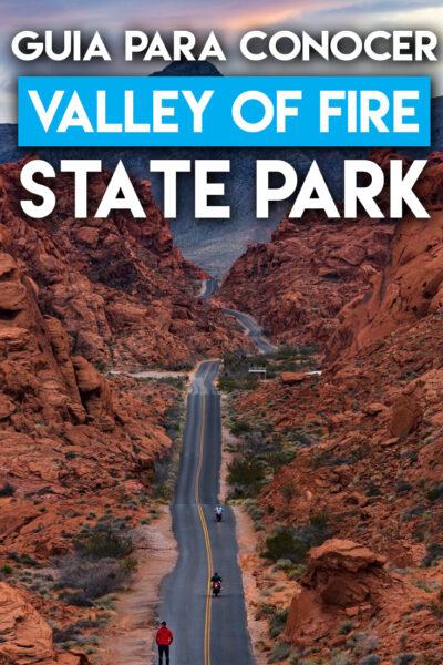 Guía para viajar al parque estatal Valley of Fire