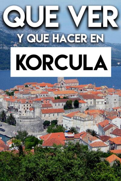 Las mejores cosas que hacer y que ver en Korcula, Croacia