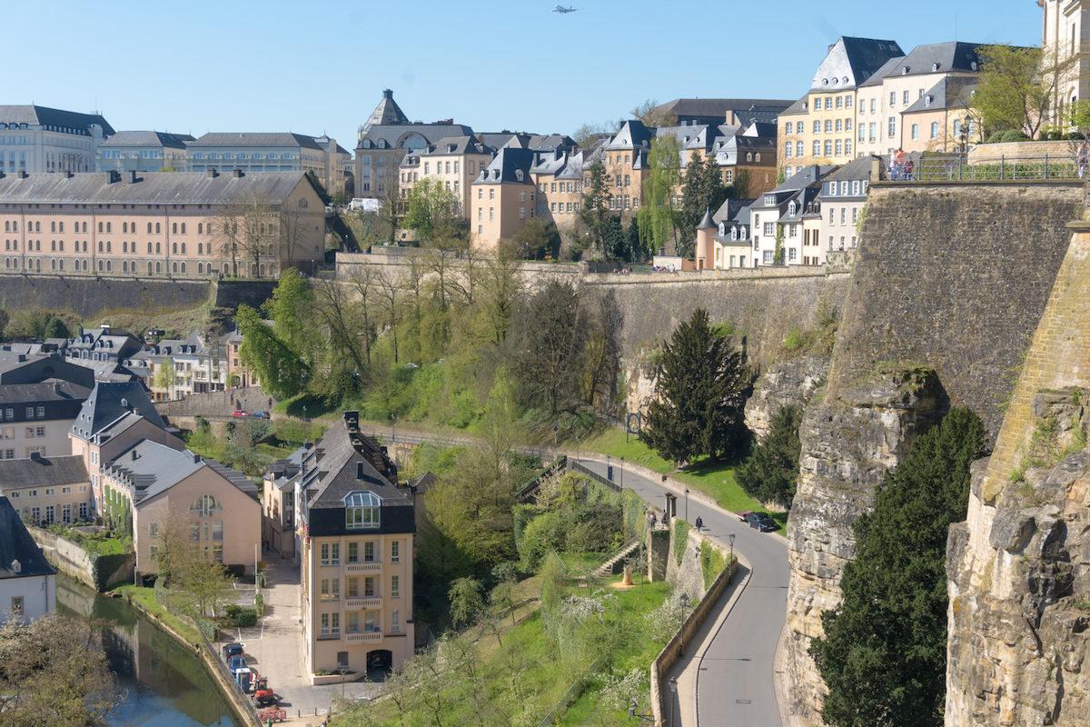 Luxemburgo Chemin de la Corniche