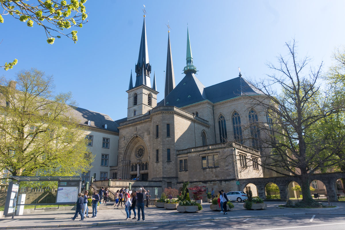 Luxemburgo Notre Dame Cathedral