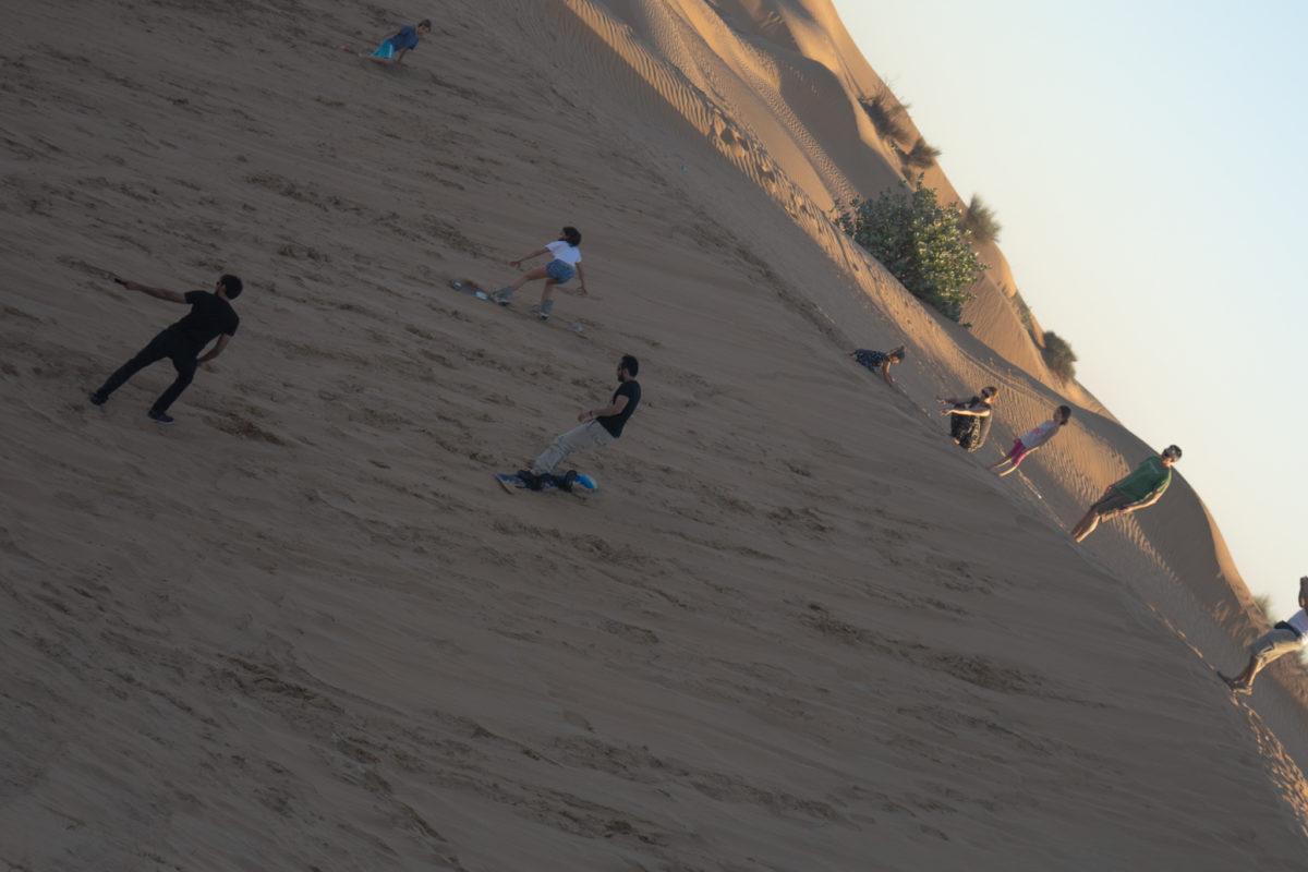 Dubai Desert Sand Boarding