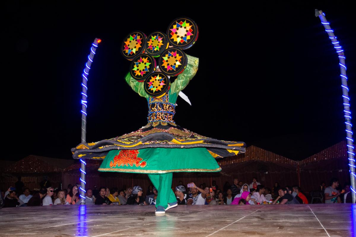 Dubai Desert dancing show