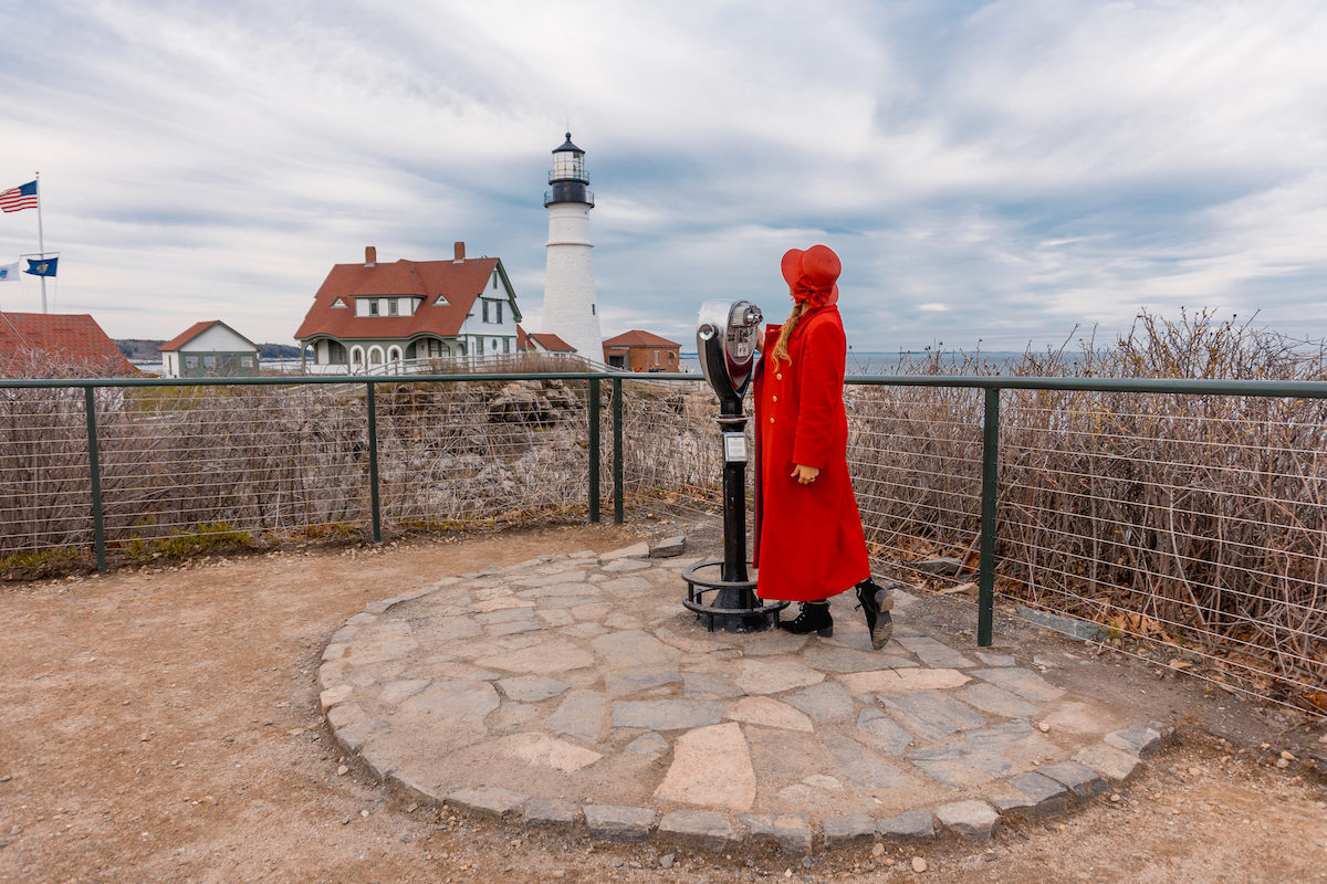 Explore Fort Williams Park and Portland Head Light