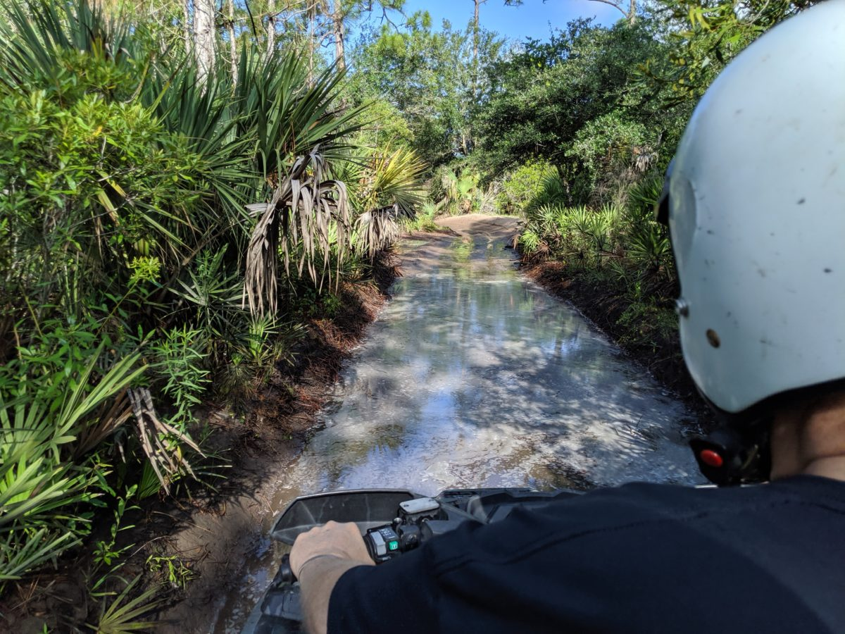 ATV Riding at Florida Tracks and Trails