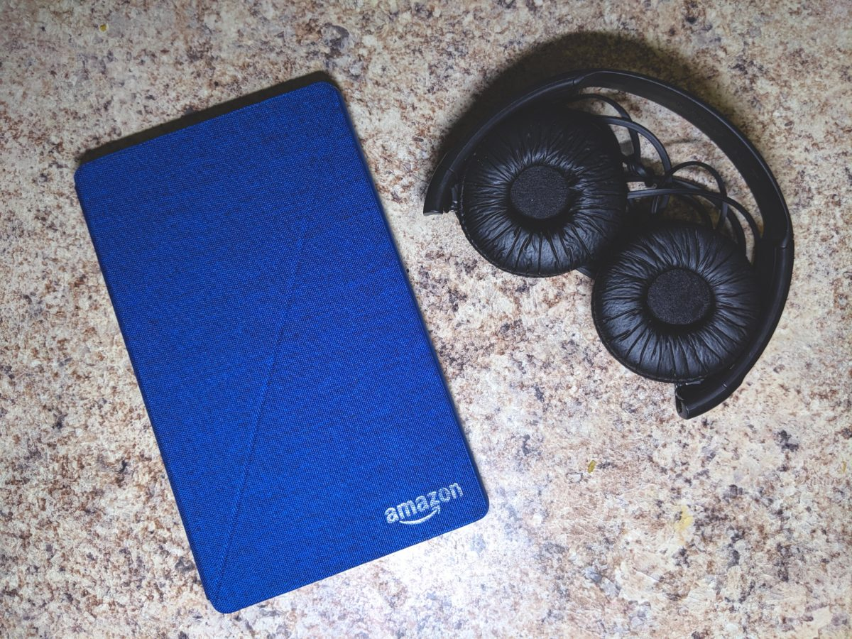 Bring your Amazon Fire HD 8 Tablet and Headphones