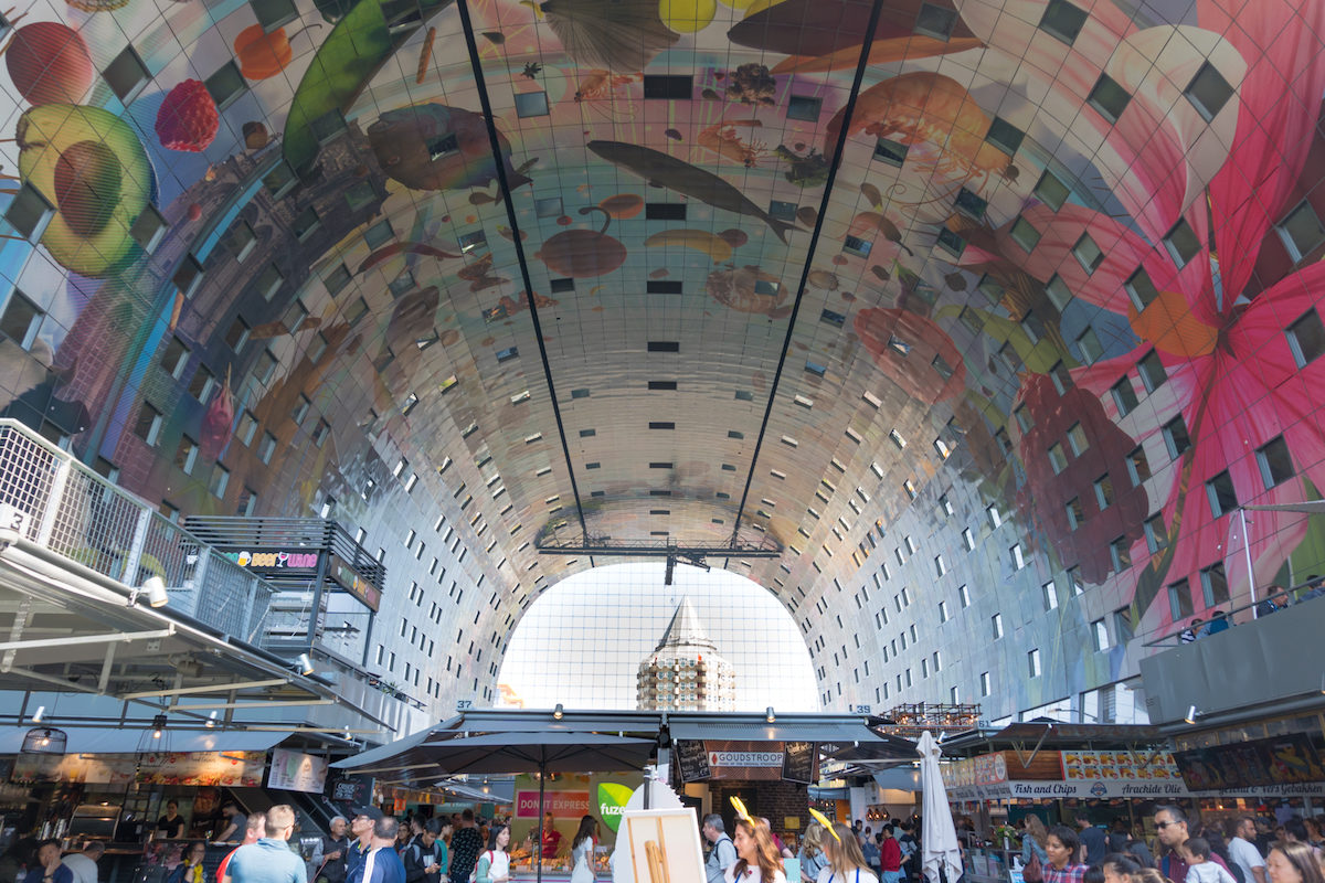 What to see in Rotterdam in One Day The Markthal