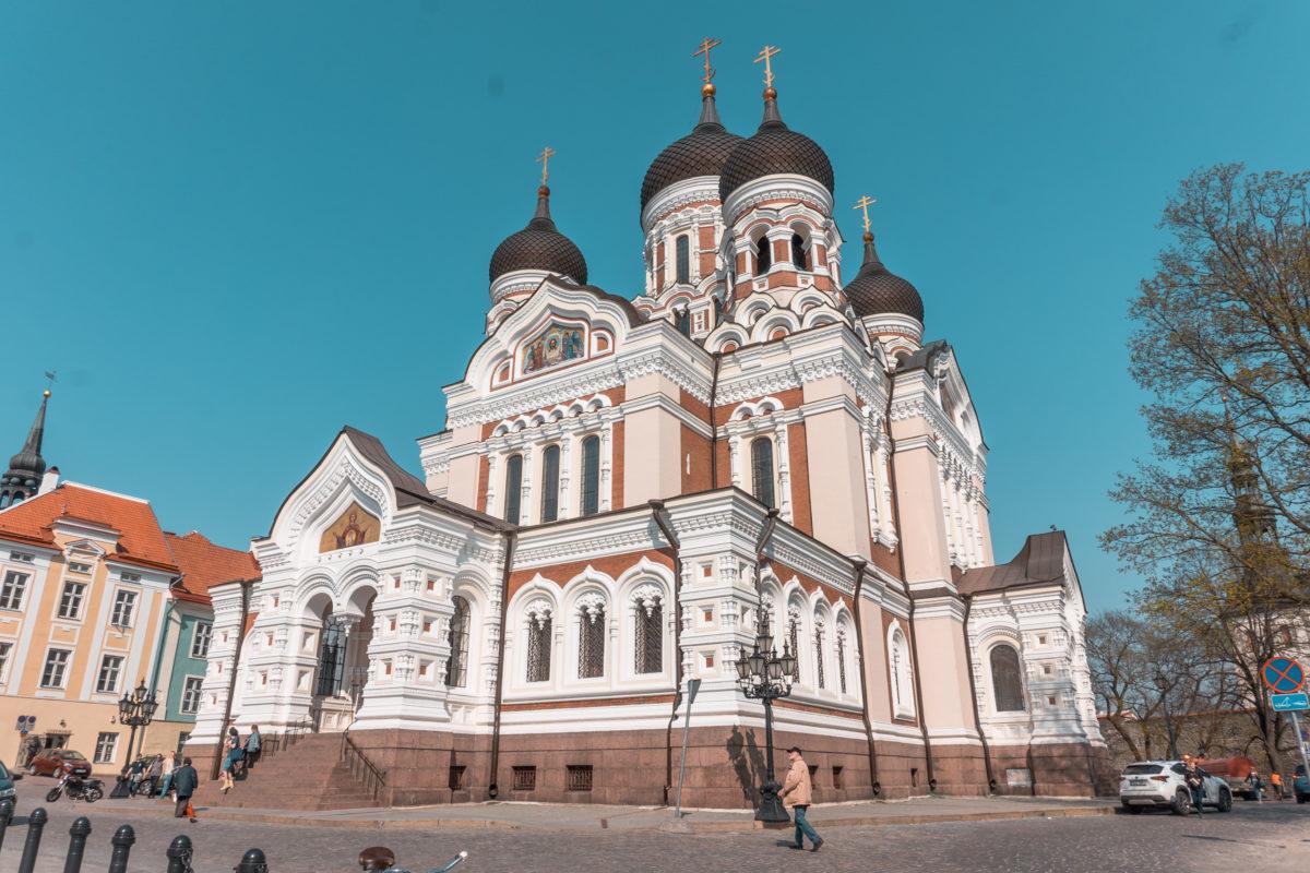 Alexander Nevsky Cathedral Tallinn