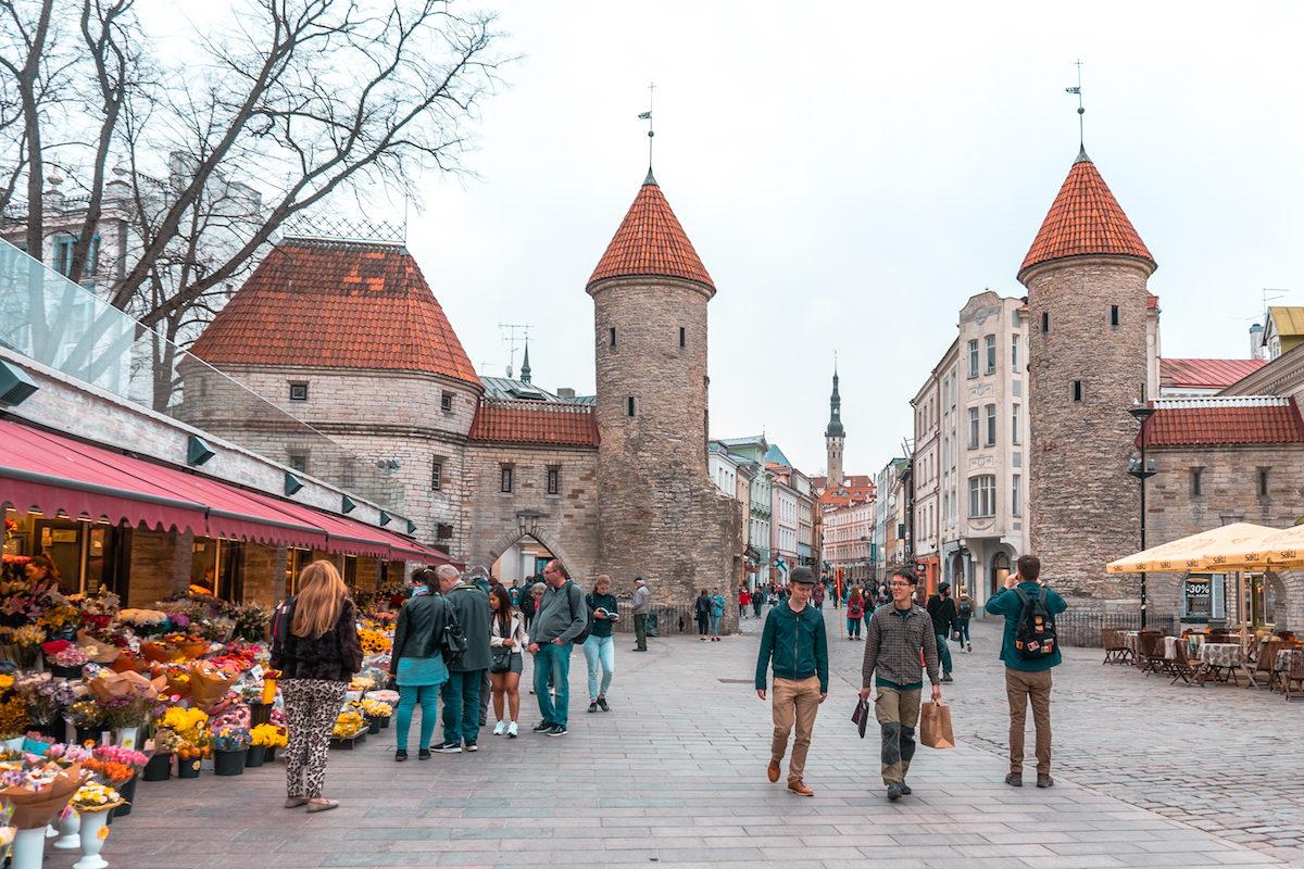 Viru Gate in Tallin