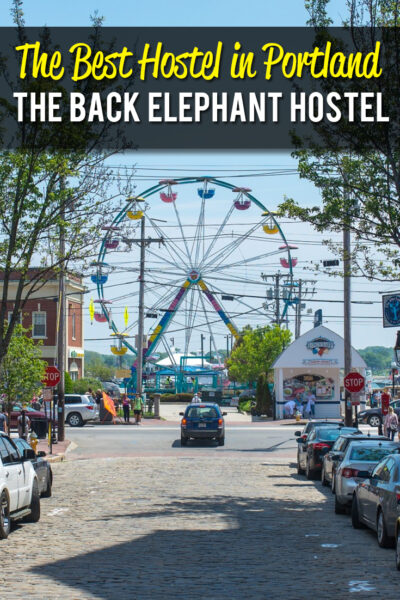 The Best Hostel in Portland, Maine: The Black Elephant Hostel
