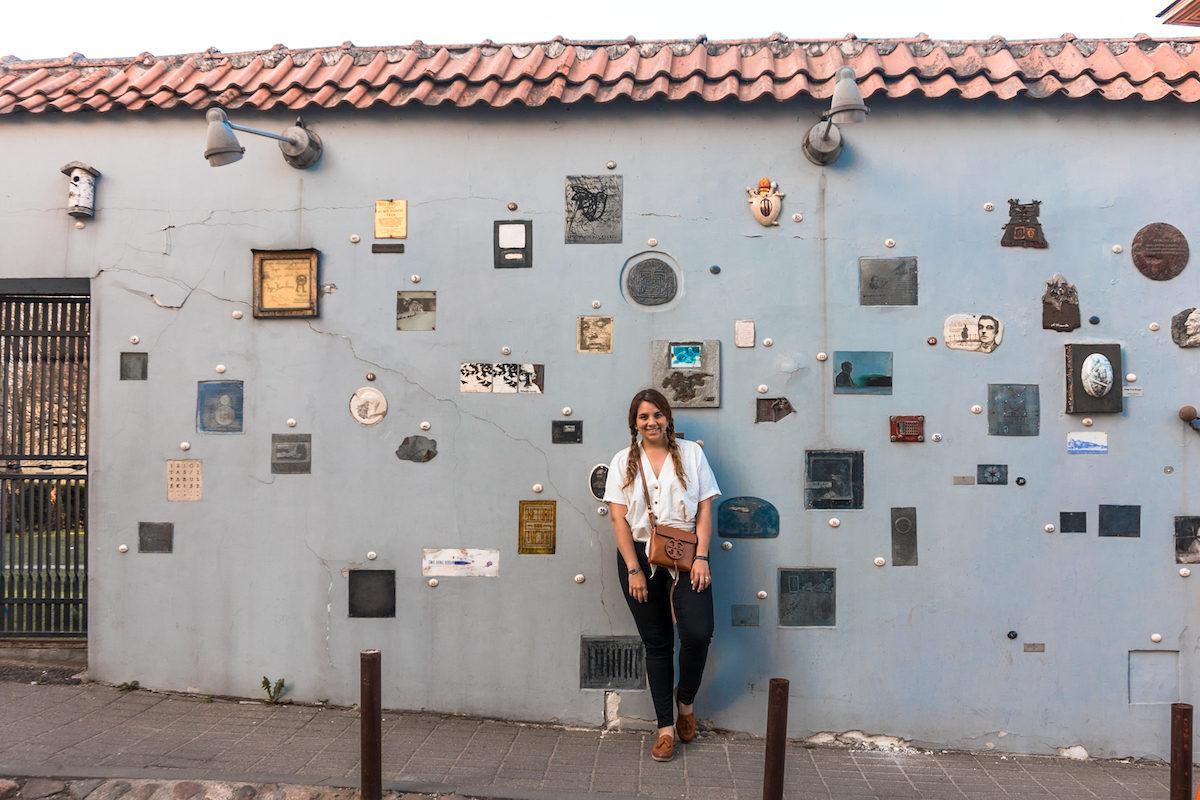 Literatu Street in vilnius