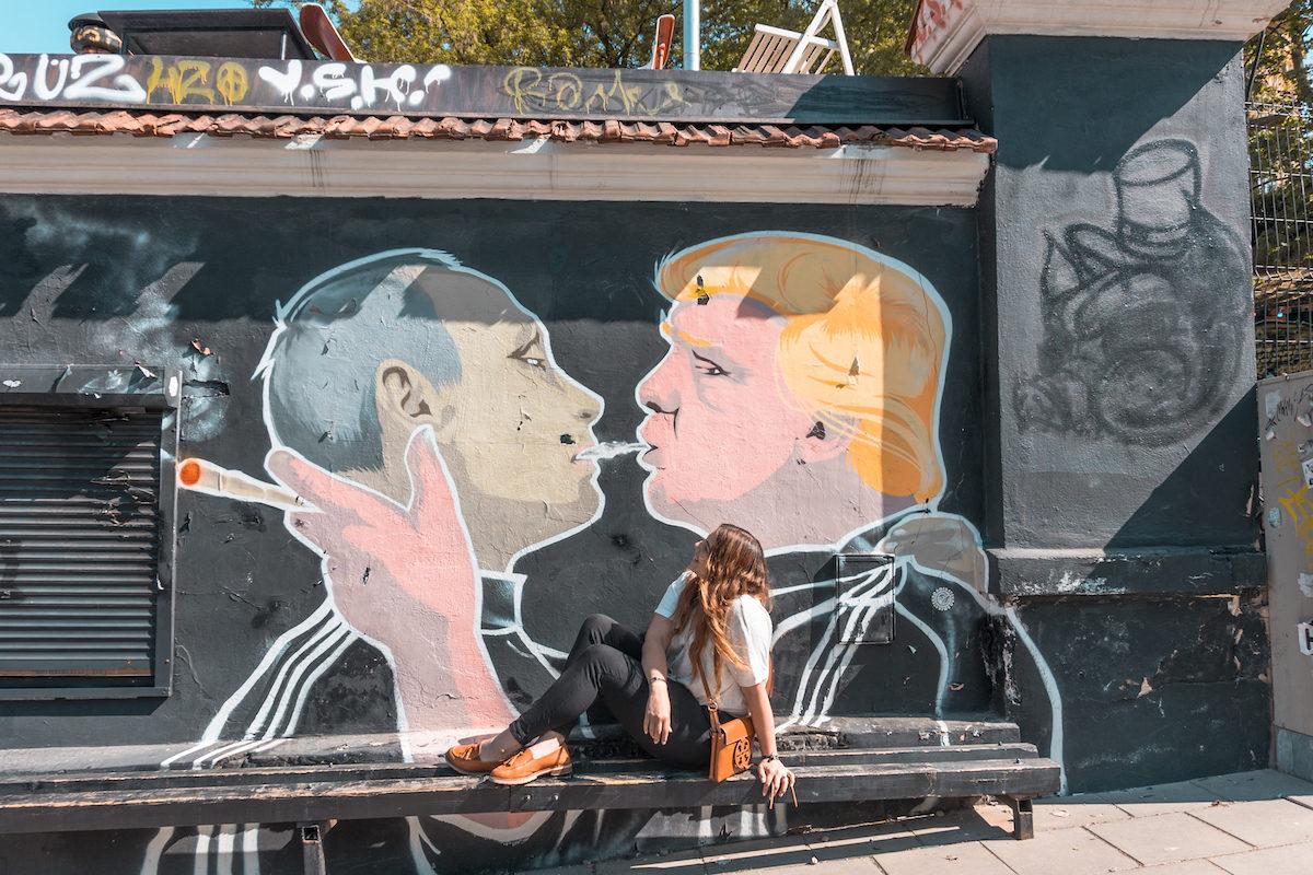 Take fun Murals photos