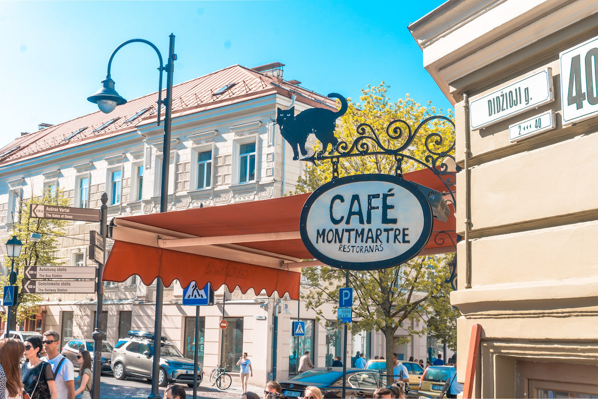 where to eat in Vilnius?