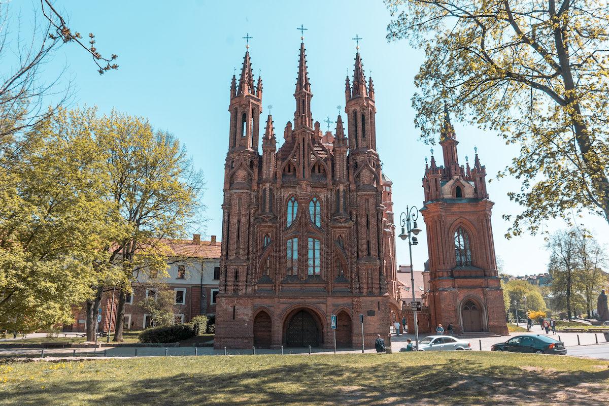 Follow the Church Trail Vilnius