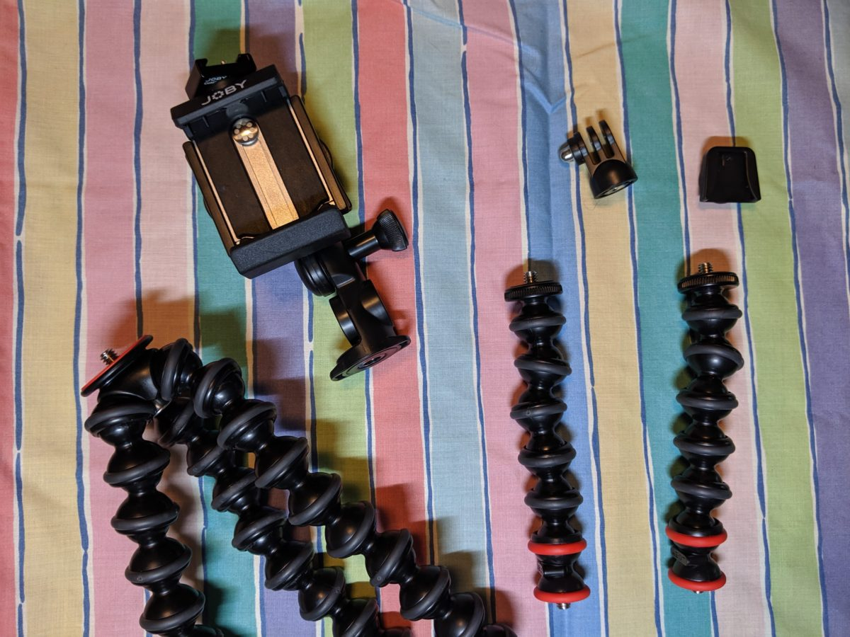 GorillaPod What is included in the box