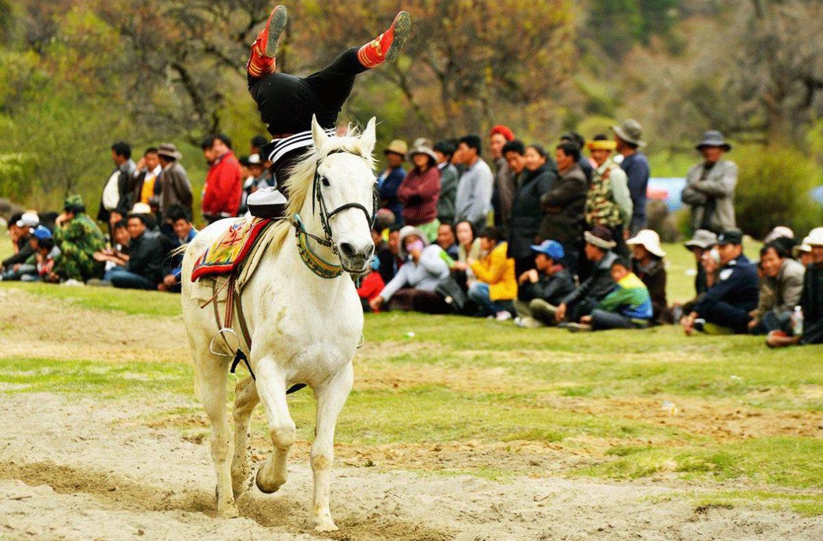 Gyantse Dama Festival - Gyantse Horse Racing Festival