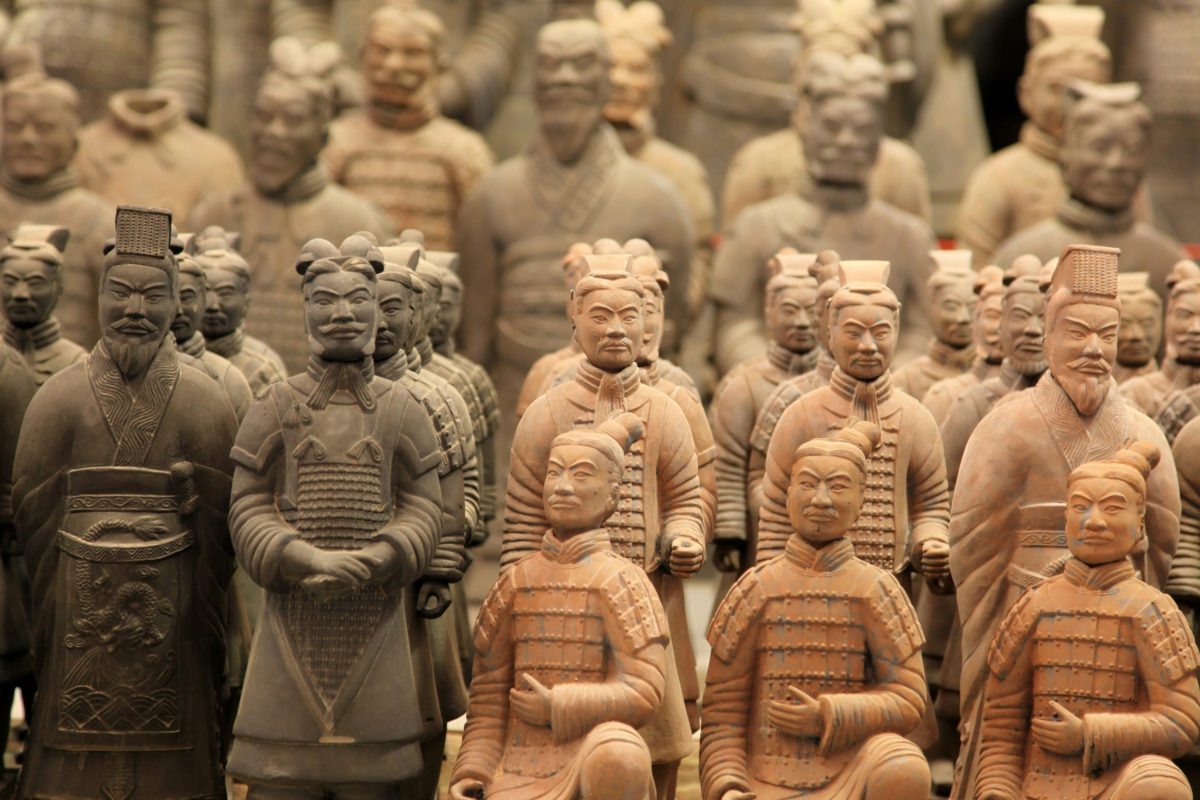 Xi'an, the home of Terracotta Warriors
