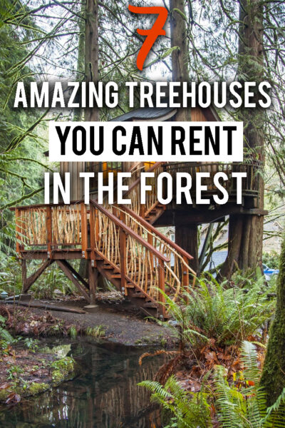 7 amazing treehouse you can rent in the forest