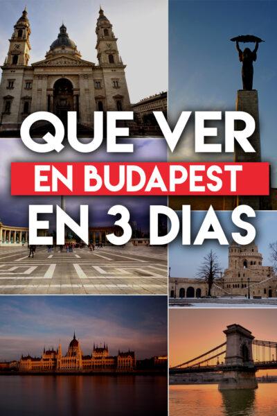 Qué ver y Qué hacer en Budapest en 3 días