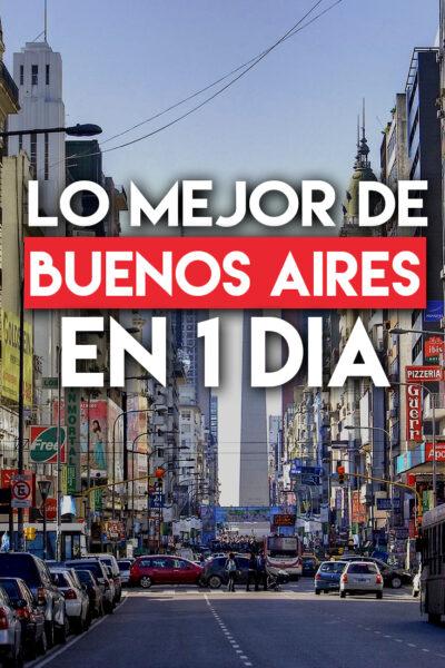 Las mejores cosas que hacer en Buenos Aires en un día