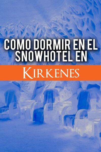 Como dormir en un hotel de hielo en Kirkenes, Noruega