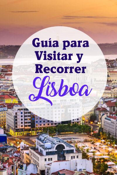 Guia de lugares para visitar en Lisboa