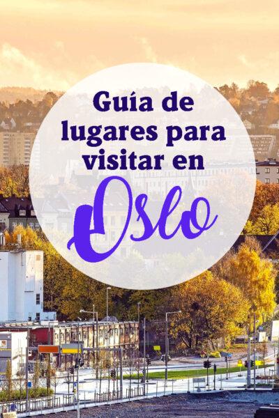 Guia de lugares para visitar en Oslo