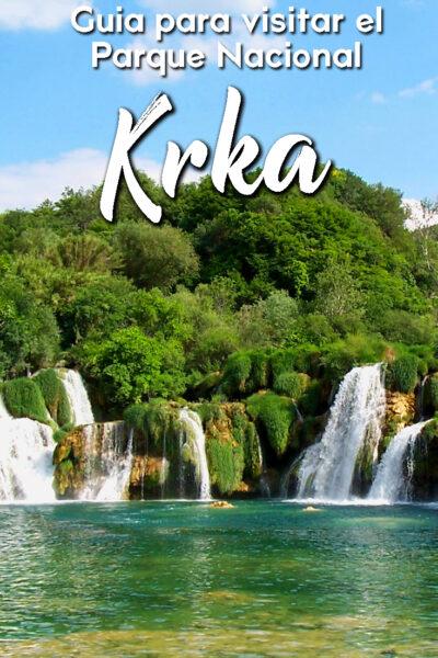 Guía para visitar el Parque Nacional Krka