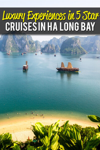 Luxury Experience in Ha Long Bay