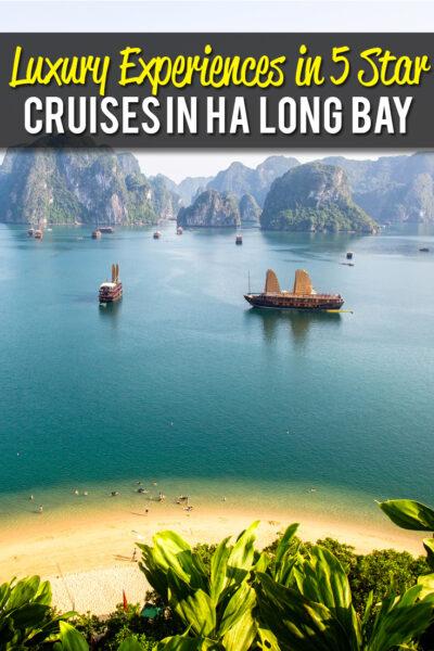 Luxury Experience in Ha Long Bay