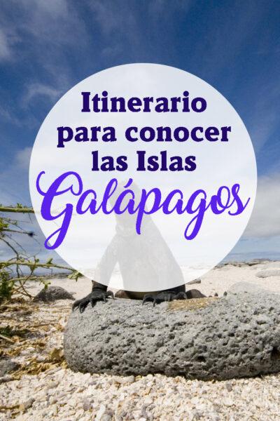 Itinerario completo para visitar las Islas Galápagos